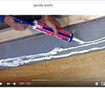YouTube video vedeneristekynnyksen asennuksesta